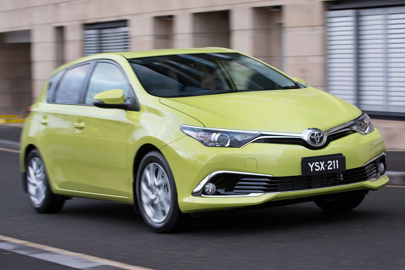 Тойота готовится квыпуску нового седана Corolla