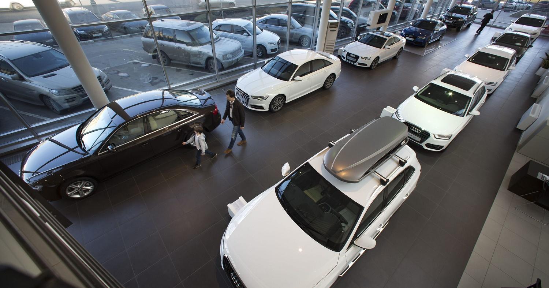 Петербургский рынок автомобилей рекордно вырос кначалу весны
