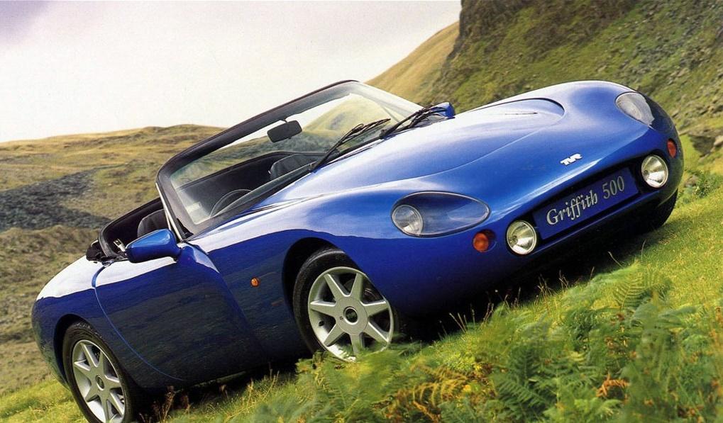 Британская компания TVR выпустит 3-е поколение авто Griffith