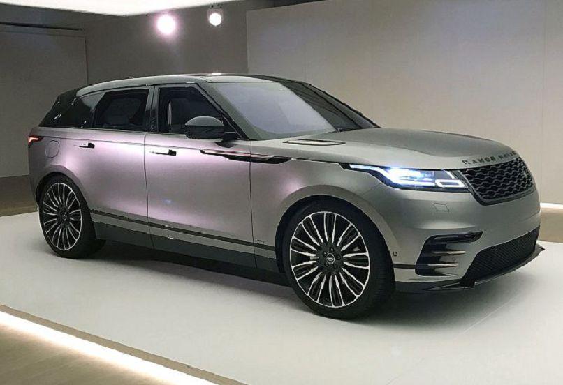 Лэнд-Ровер добавил новых версий для Range Rover Velar