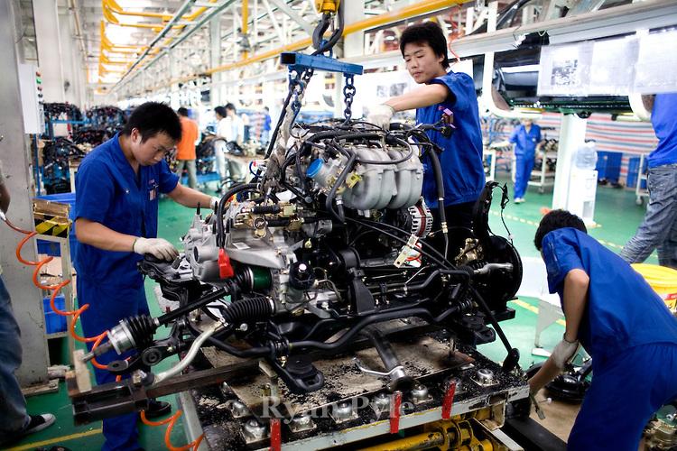 В Китайская народная республика активизируют развитие государственного автопрома