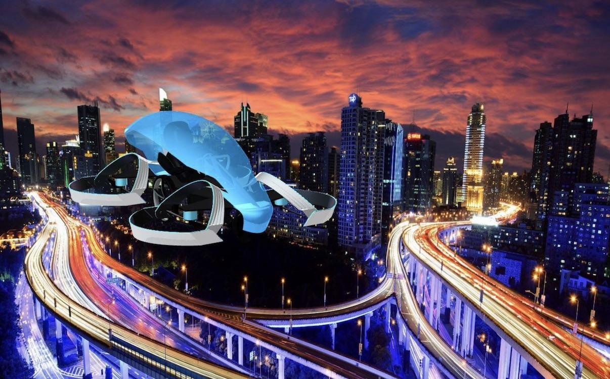 Японцы готовятся киспытаниям летающего автомобиля