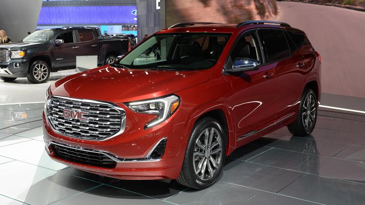 Компания дженерал моторс озвучила цены на вседорожный автомобиль Terrain