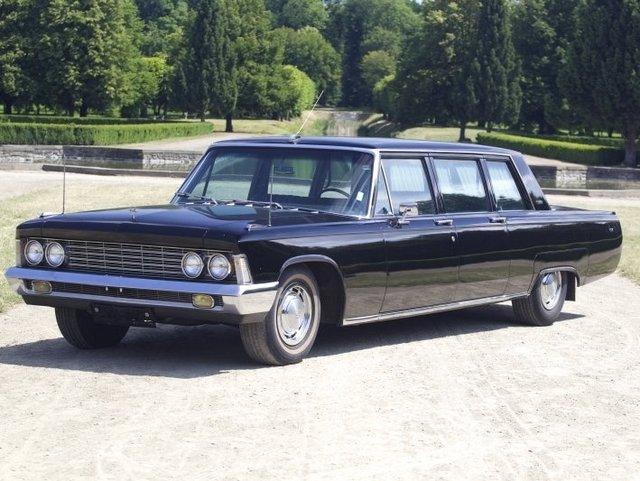 На реализацию выставили лимузин ЗИЛ-114, принадлежавший Брежневу