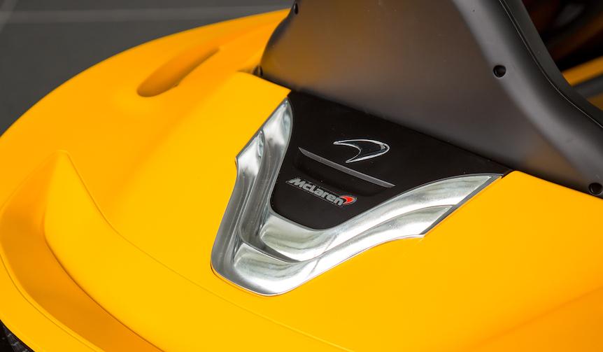 Компания McLaren работает над своим электрическим автомобилем