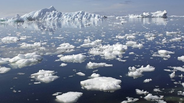 Льды вАрктике ученые заморозят повторно