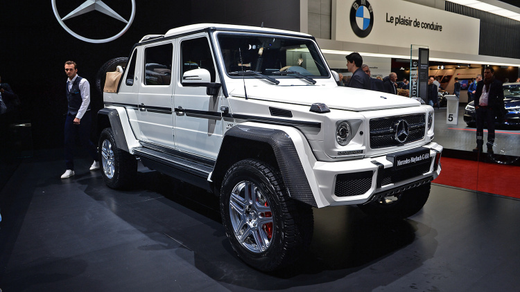 Самый 1-ый вседорожный автомобиль Maybach оценен в83,5 млн руб.