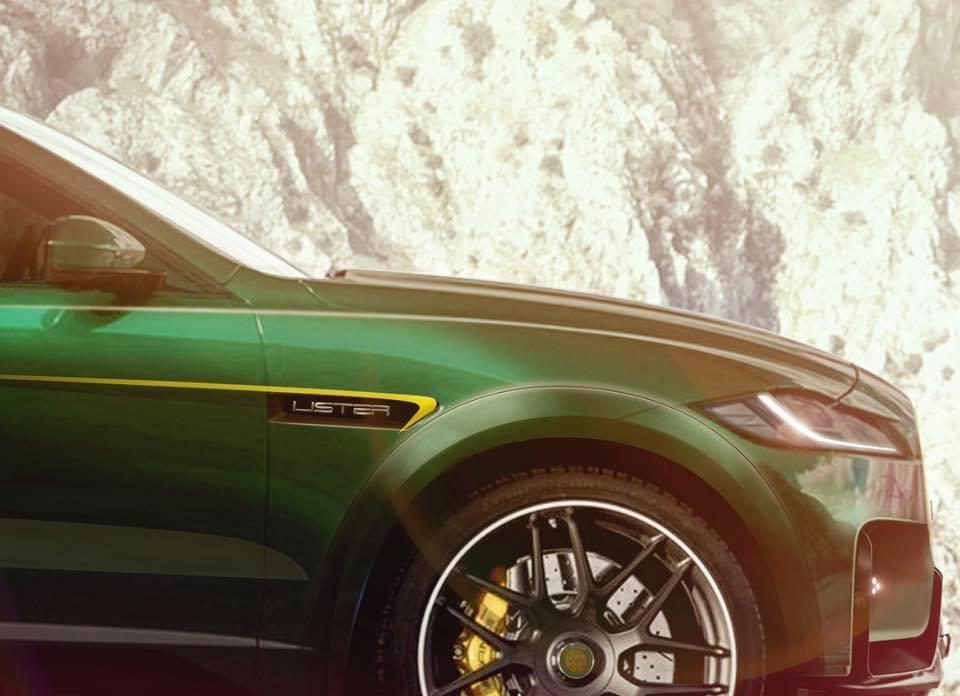Британский производитель автомобилей Lister представил кроссовер наоснове Ягуар F-Pace