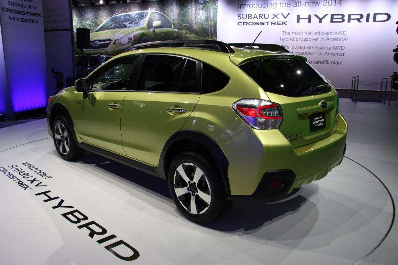 Subaru анонсировала свою первую гибридную модель Crosstrek