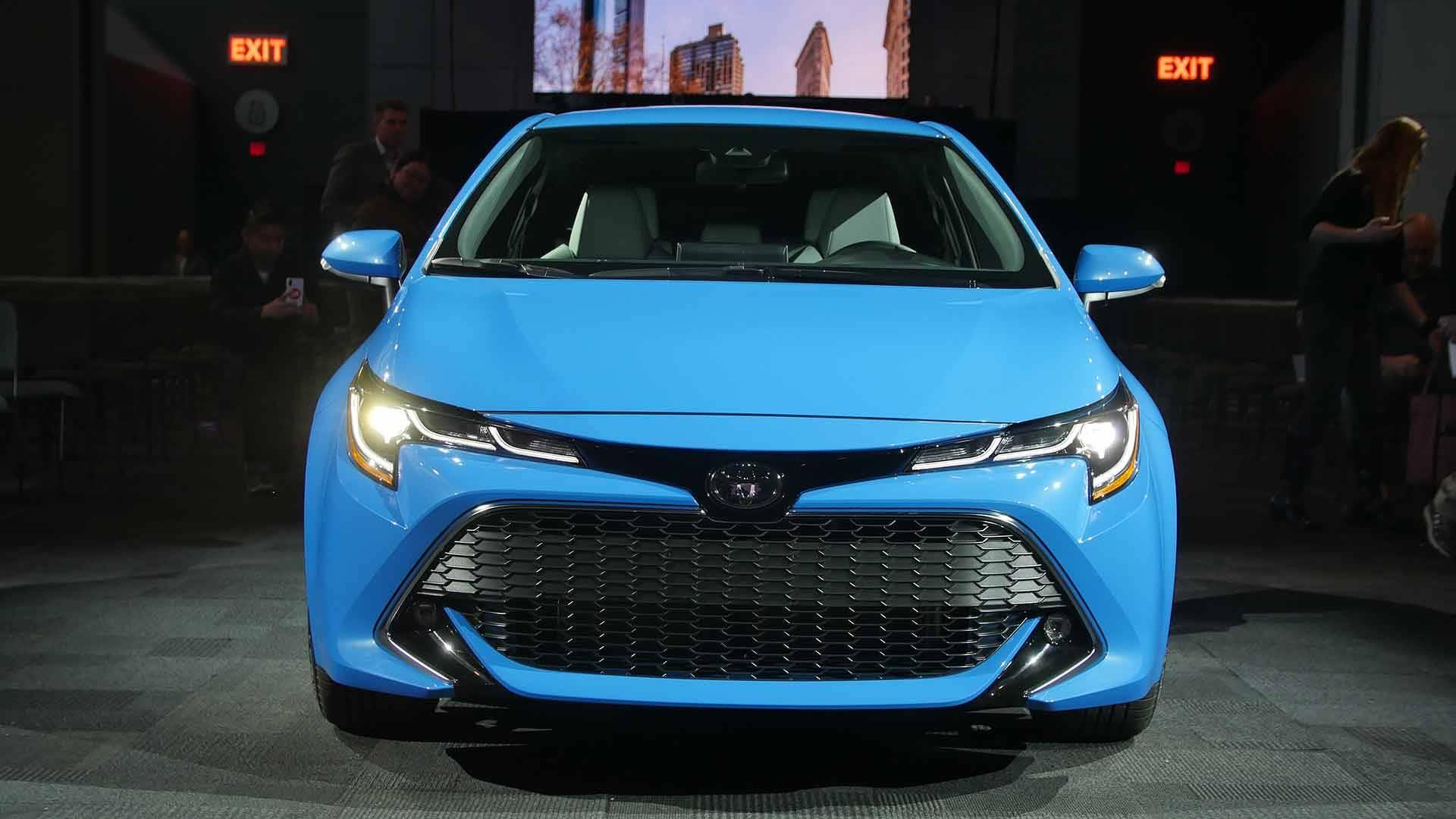 Новый хэтчбек Тойота Corolla 2018 появится нарынке уже всередине лета