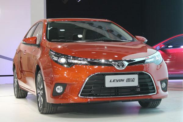 ВКитайской народной республике  начали принимать предварительные заказы на улучшенный  седан Тоёта  Levin