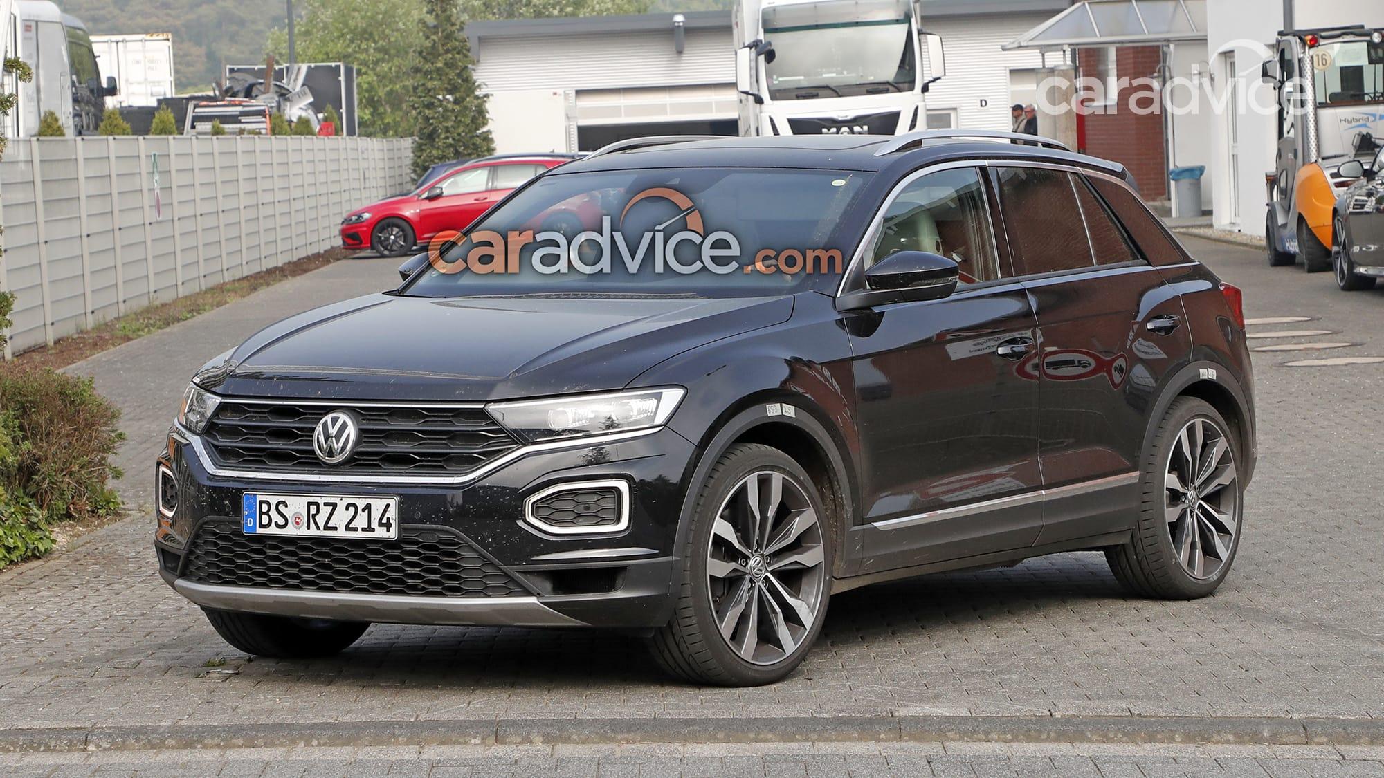 Volkswagen T Roc R тестируют на Нюрбургринге