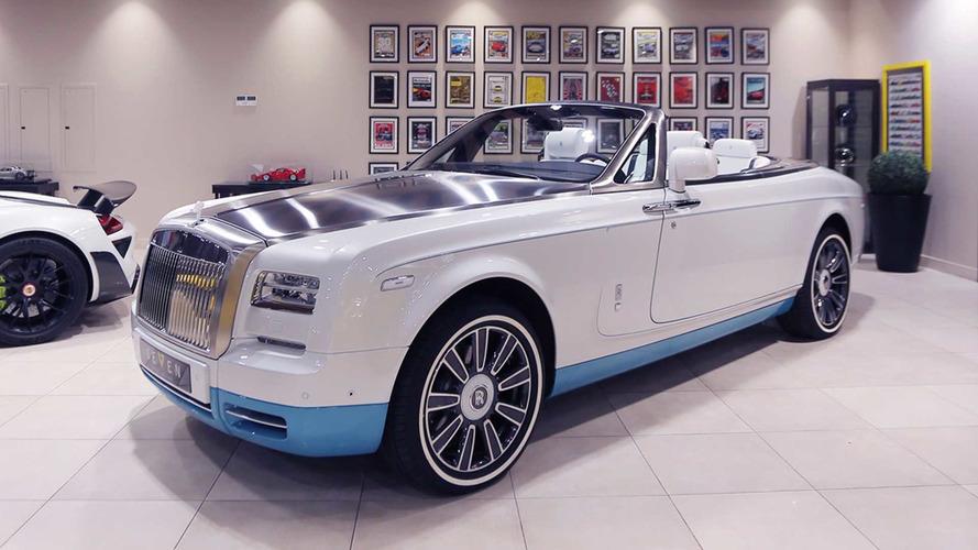 ВОАЭ продается последний кабриолет Роллс Ройс Phantom VII Coupe