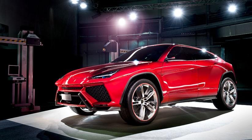 В Нюрбургринге тестируют новый кроссовер Lamborghini Urus