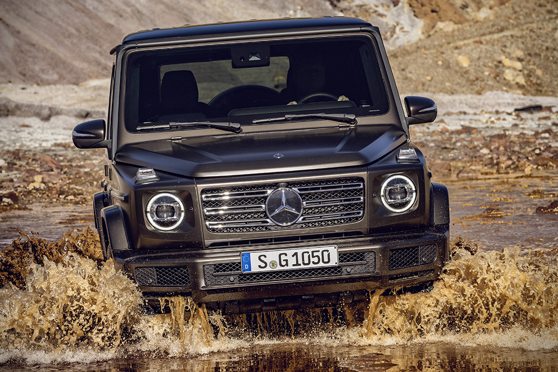 Продажи дизельного Mercedes Benz G-класс начнутся в марте 2019 года