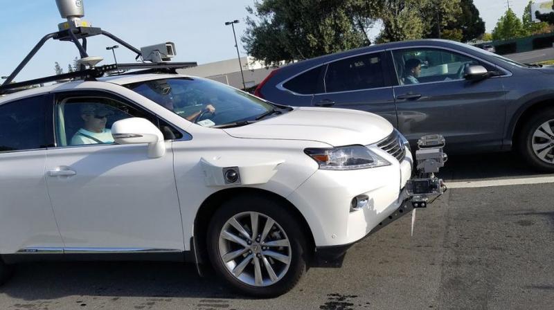 Беспилотный автомобиль Apple увидели вПало-Алто