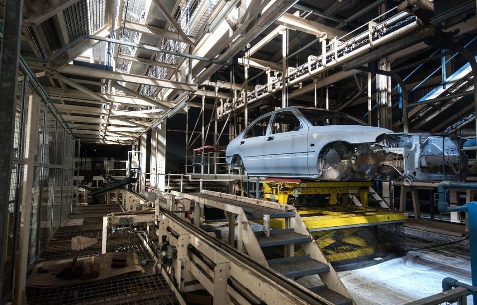 Производство авто вАнглии снизилось на18,2% весной