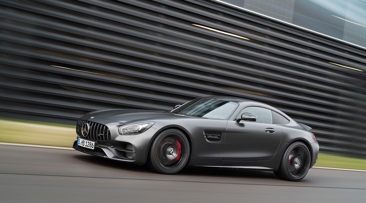 Benz выпустит 5 коллекционных купе GT3 Edition 50