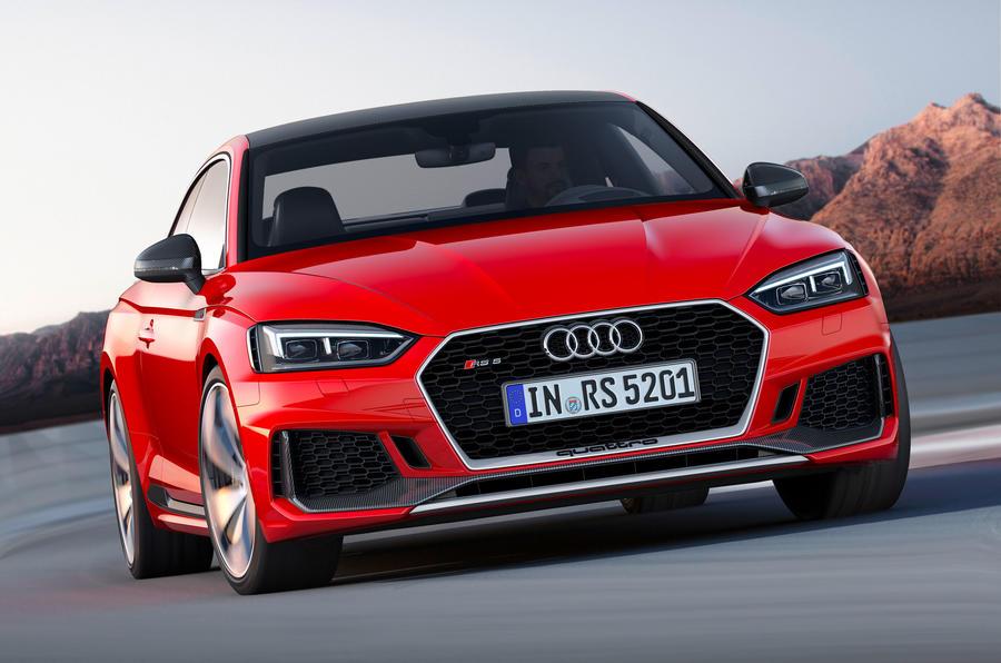 Audi назвала стоимость заряженного купе RS5 Coupe для российского рынка