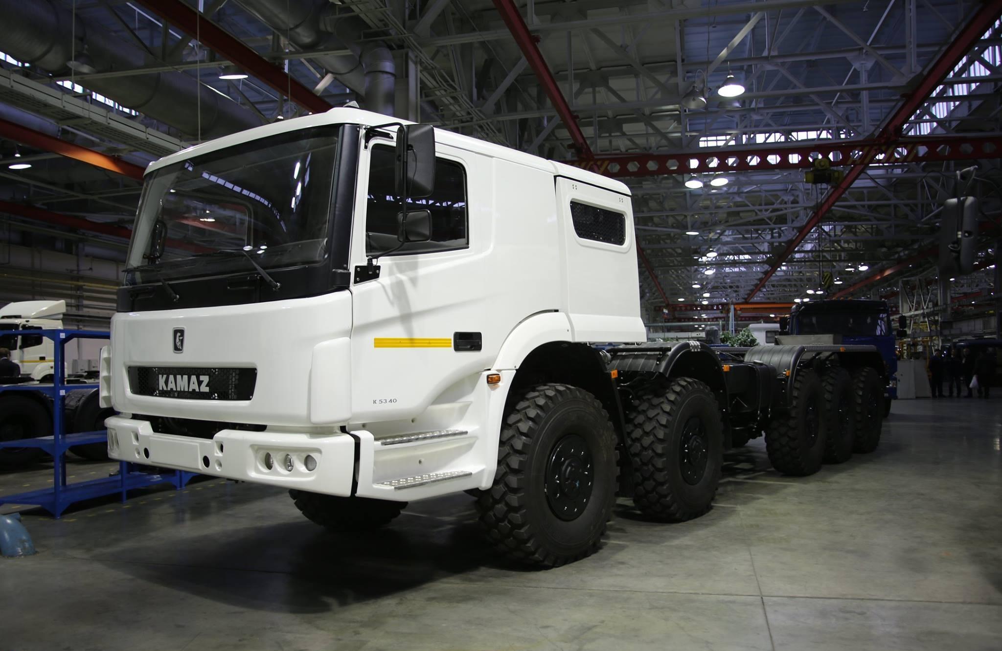 КамАЗ увеличил производство вянваре-мае 2015-го на7,5%