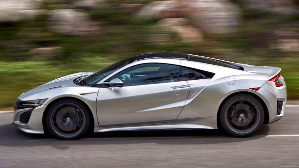 Honda NSX следующего поколения может получит электрическую установку на 1 000 л.с