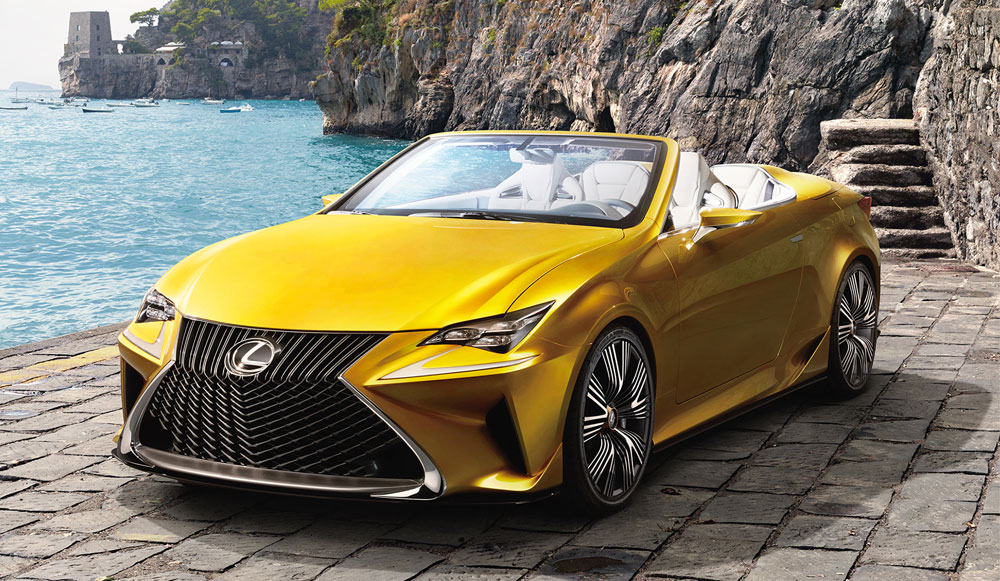 Флагманское купе Lexus LC 500 может стать кабриолетом