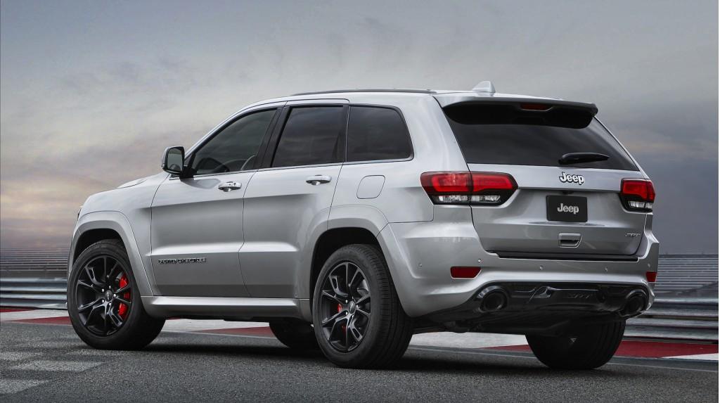 Нарынок вывели Jeep Grand Cherokee 2017