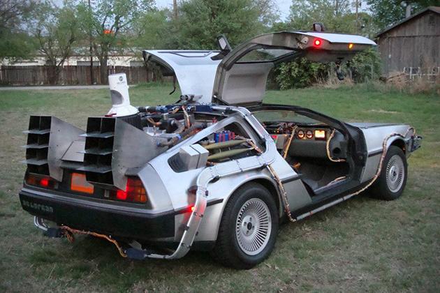 DeLorean из«Назад вбудущее» выставили на реализацию за £35 тыс.