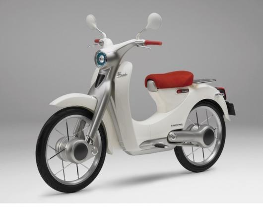 Хонда разработает электрический скутер к предстоящему году