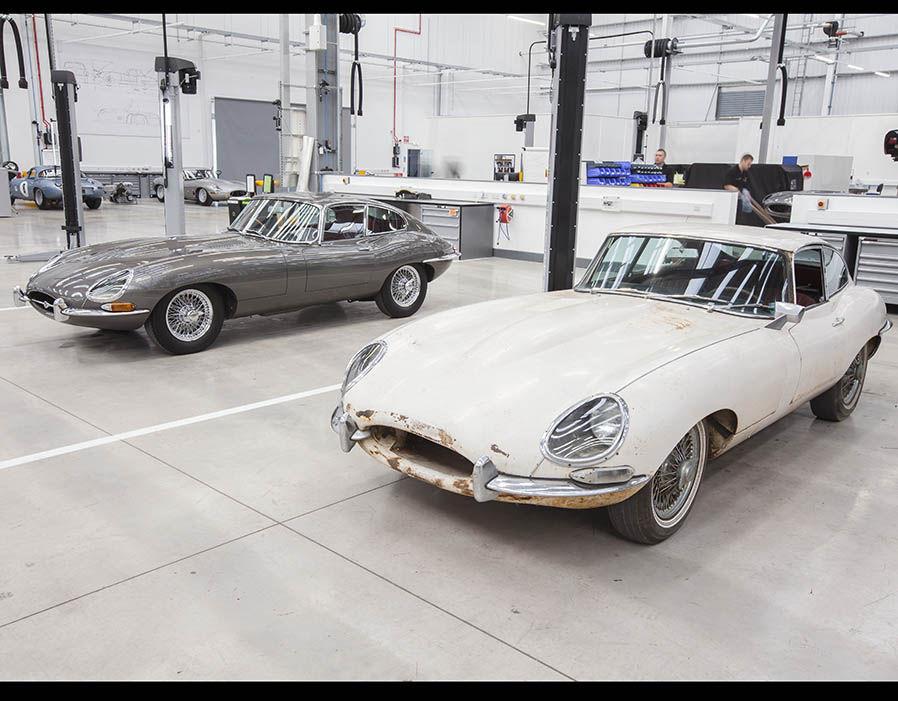 Ягуар Ленд-Ровер открыл наибольший вмире салон традиционных авто