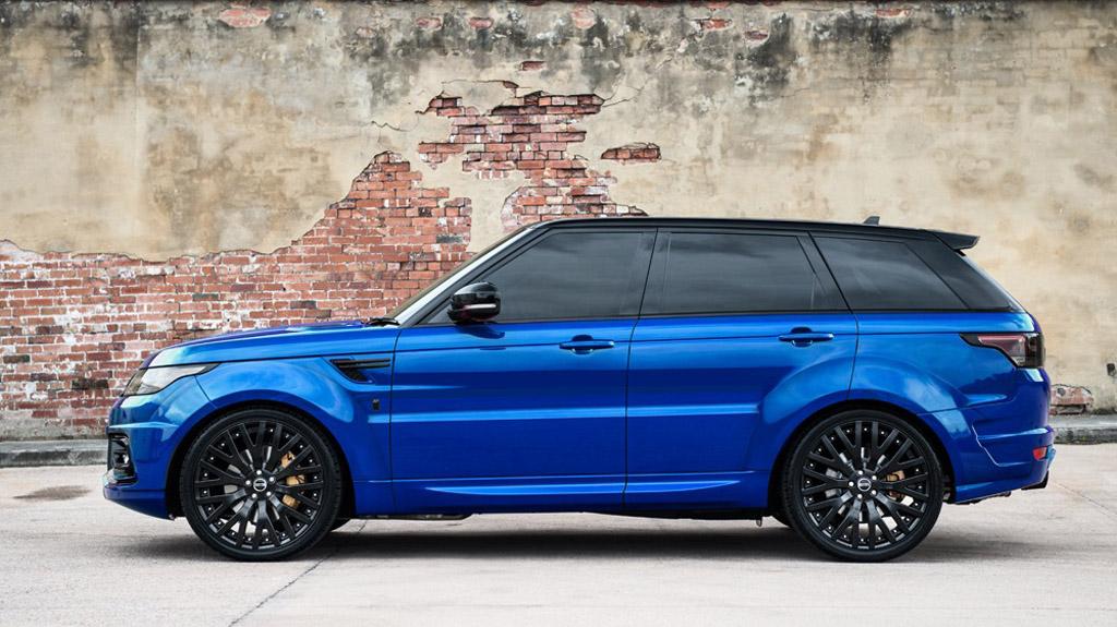 Project Kahn выставил на реализацию  эксклюзивный Range Rover Huntsman Colors Edition