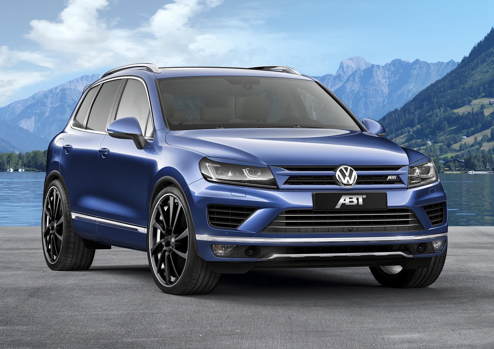 Размещены первые рендеры VW Touareg 2018