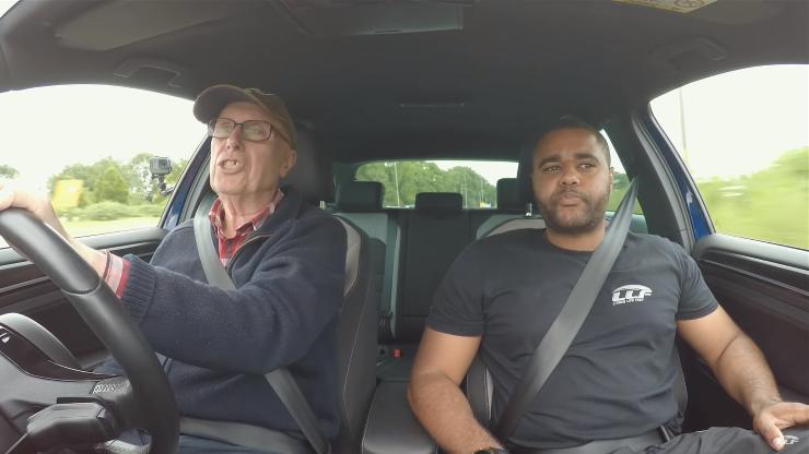 Сверхмощный VW Golf Rобнаружили у75-летнего пенсионера