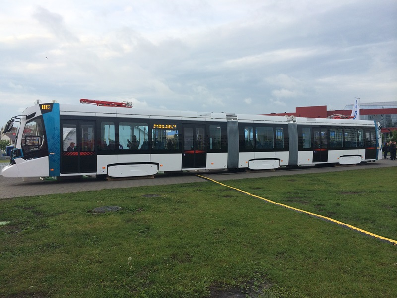 В северной столице появятся новые трамваи Stadle