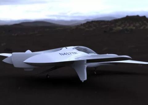 Компания DeLorean Aerospace поведала опроекте летающего автомобиля DR-7