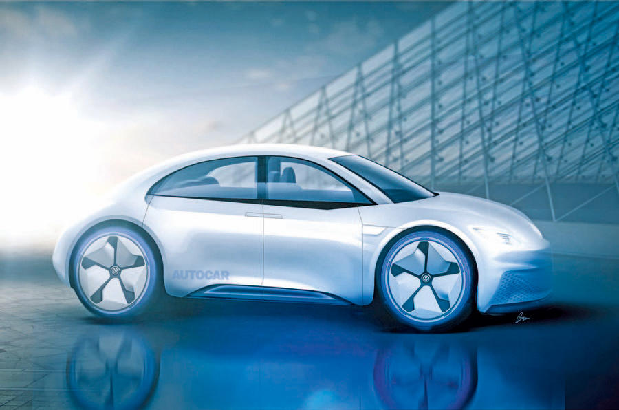 Новый Volkswagen Beetle получит электрическую установку