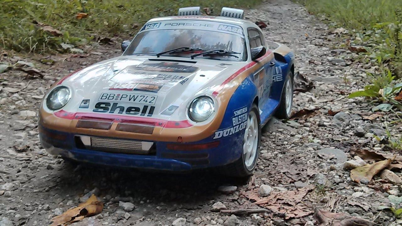 Нааукционе впервый раз выставят основанный для «Париж-Дакара» гоночный 959-й