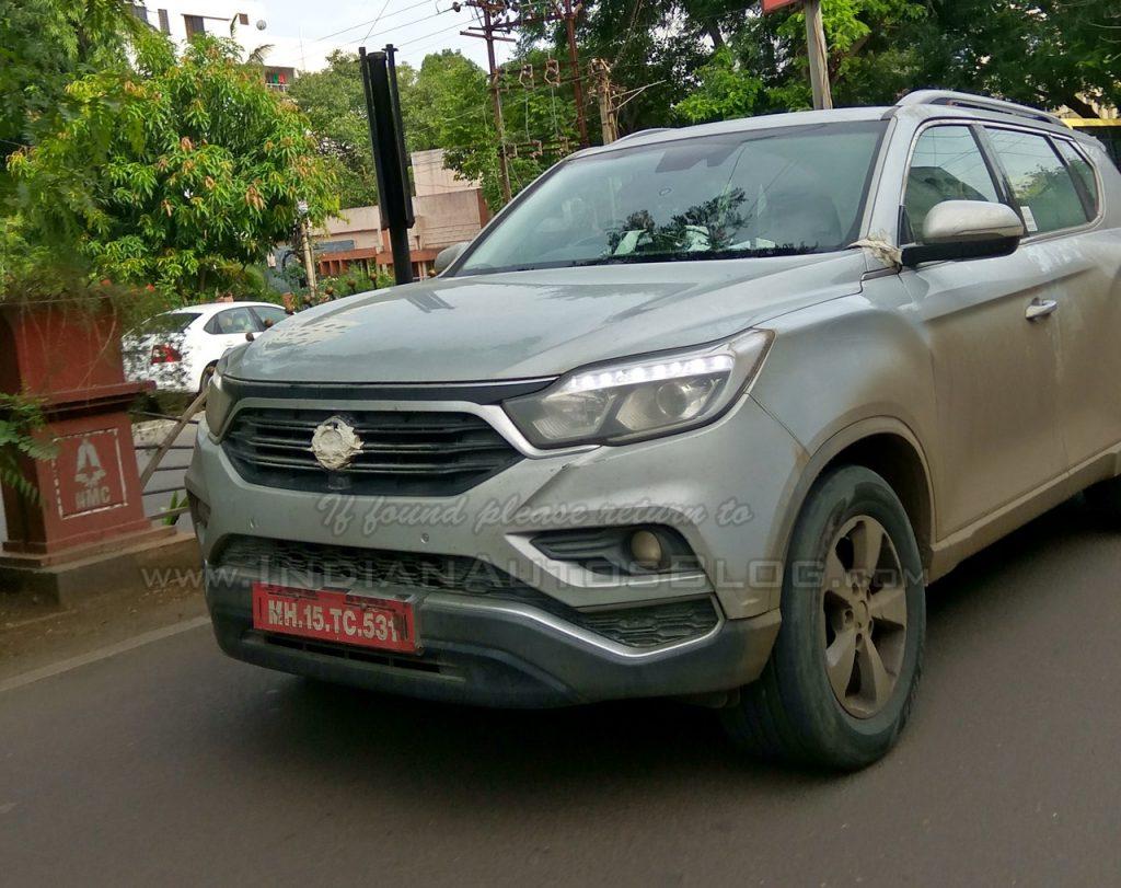 Mahindra вывела натесты модернизированный Сан Ёнг Rexton