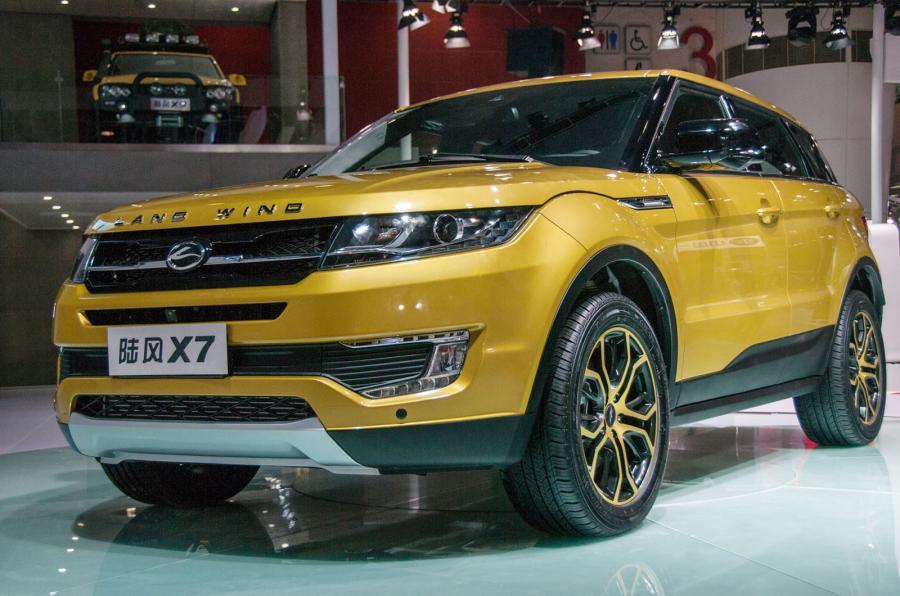 В КНР обновили клона Range Rover Evoque