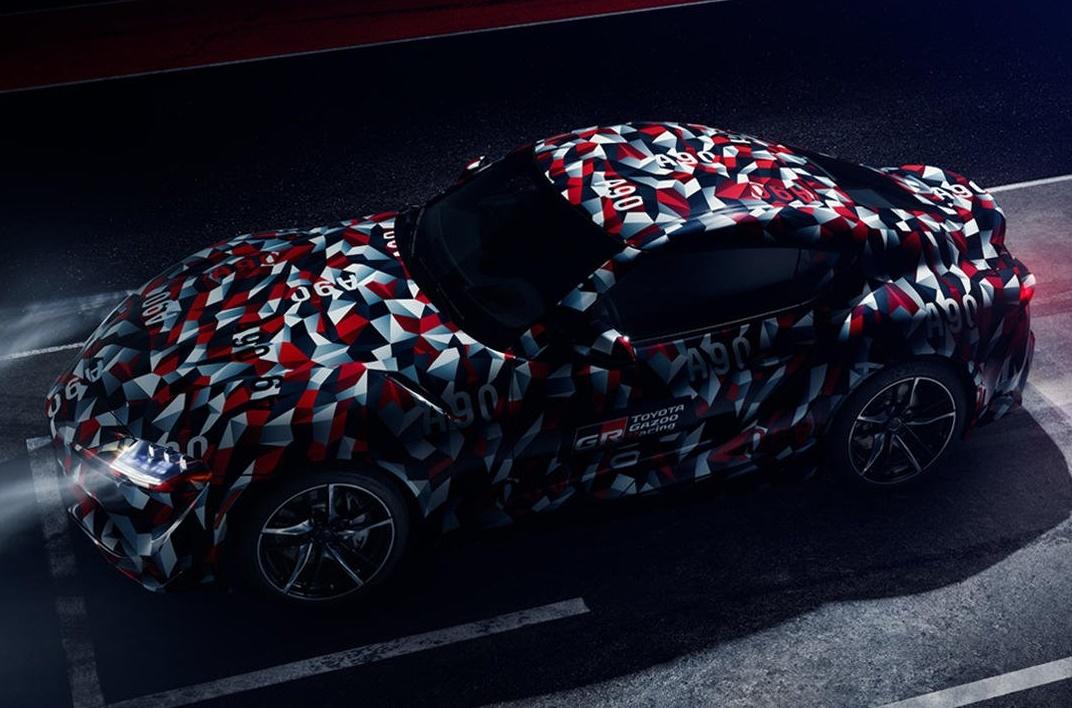 Тойота покажет «возрожденный» Supra на«Фестивале скорости» вГудвуде