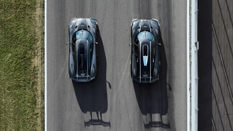 Koenigsegg продемонстрировал два последних гиперкара Agera RS