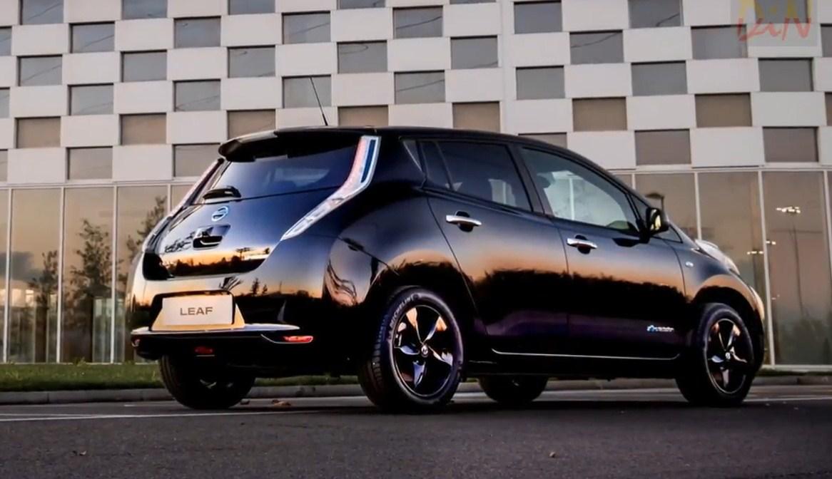 В России появится новое поколение электрокара Nissan Leaf