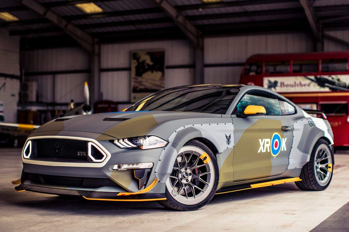 Форд привезет вГудвуд необычайный Eagle Squadron MustangGT иMustang Bullit
