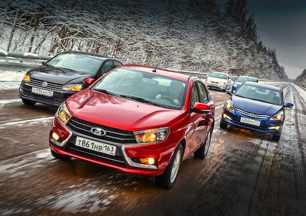 Лада удерживает лидерство навторичном автомобильном рынке РФ