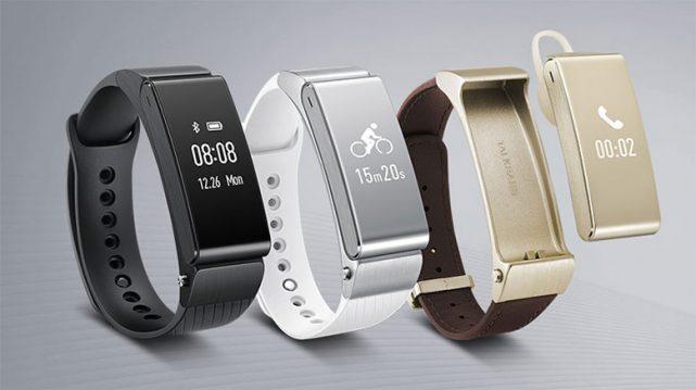 Фитнес-браслет Huawei Talk Band B5 представлен официально
