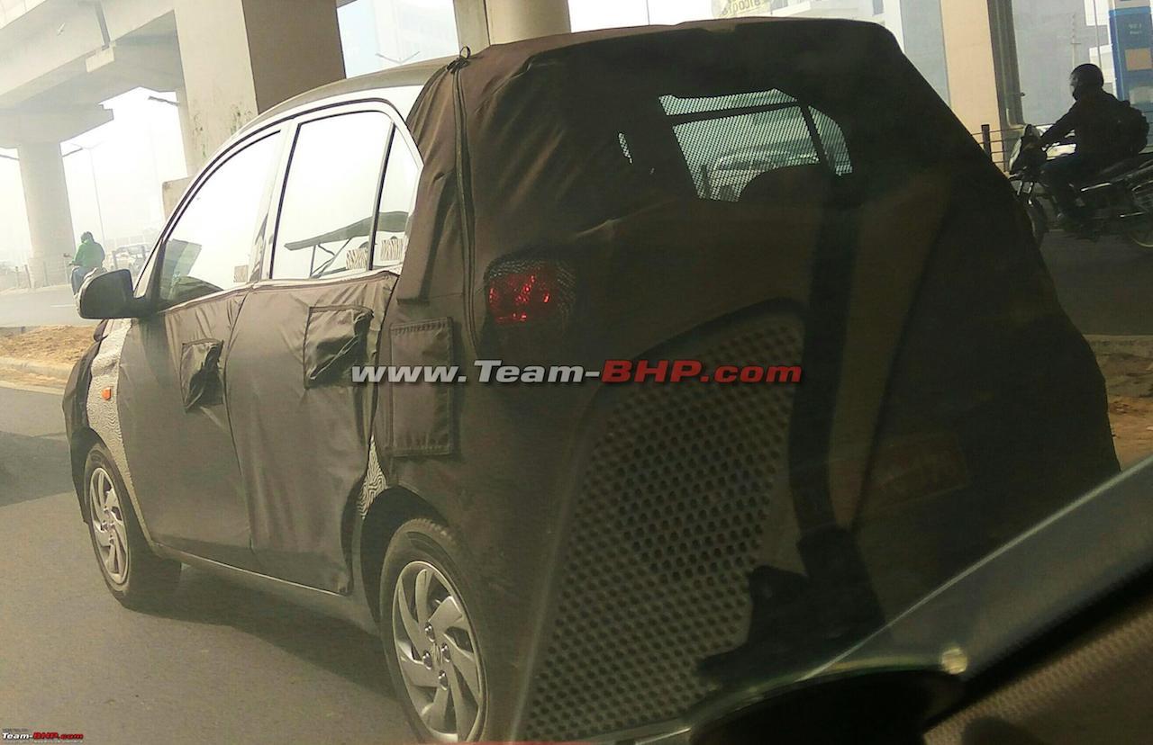 Новый субкомпактный хетчбэк от Hyundai засняли