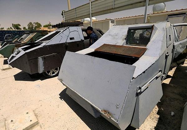 Натерритории ИГИЛ найден парк автомобилей встиле «Безумного Макса»