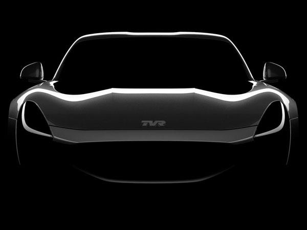 Компания TVR показала очередной тизер нового спорткара