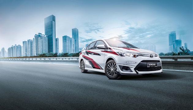 Новый седан Тойота Vios получил тюнинг-пакет отTGR