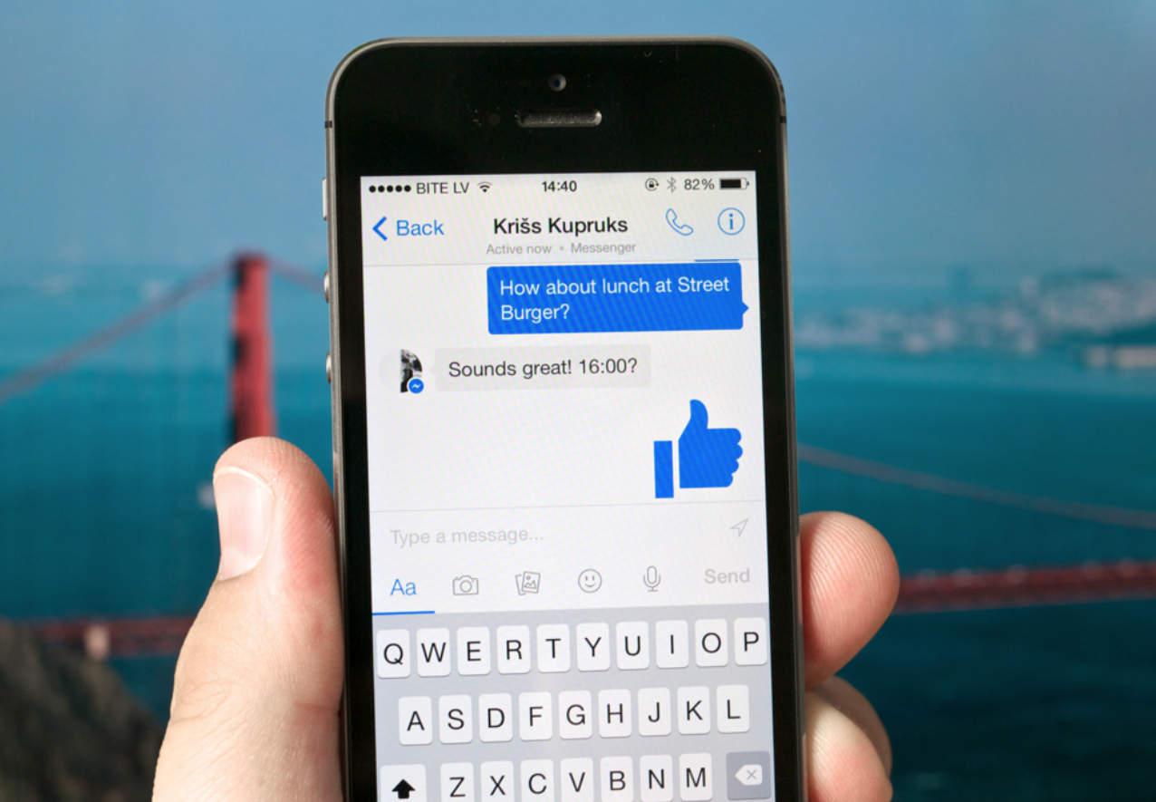 Ежемесячная аудитория фейсбук Messenger достигла отметки 1 млрд пользователей